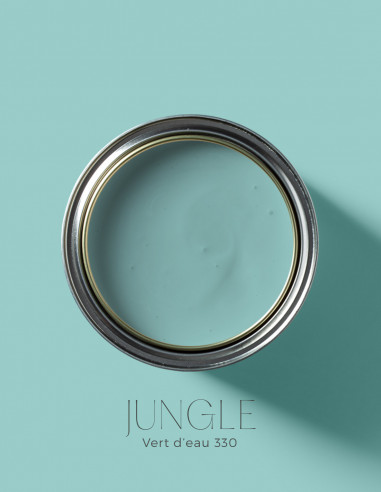 Peinture - Jungle Vert d'eau - 330