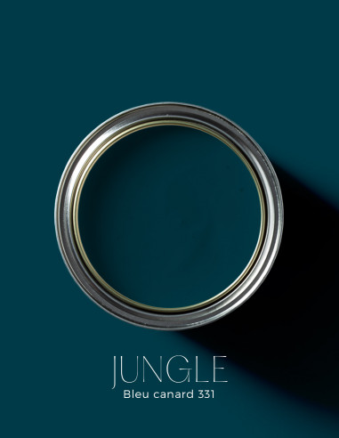 Peinture - Jungle Bleu canard - 331