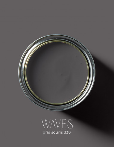 Peinture - Waves Gris souris - 338