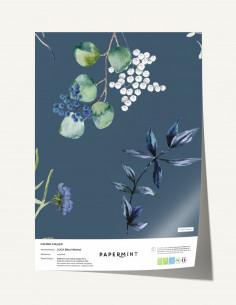 Fresque Cyanotype Lunaria