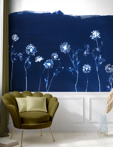 Fresque Cyanotype Angelica