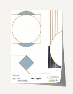 Bushu Rouge Aka - Linear meter fabric