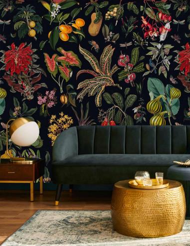 Fleurs d'Antan - Fresque