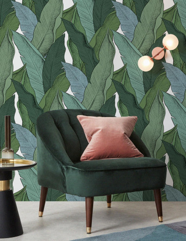 Leaf - Fresque