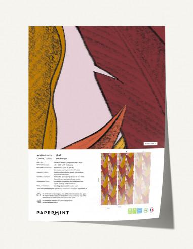 Leaf Wallpanel - sample