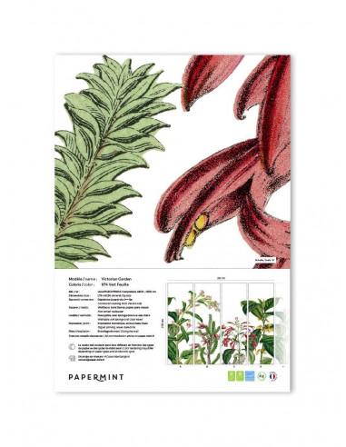 Victorian Garden Fresque - Échantillon