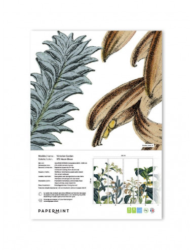 Victorian Garden Wallpanel - sample
