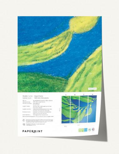 Algue Marine Wallpanel - sample