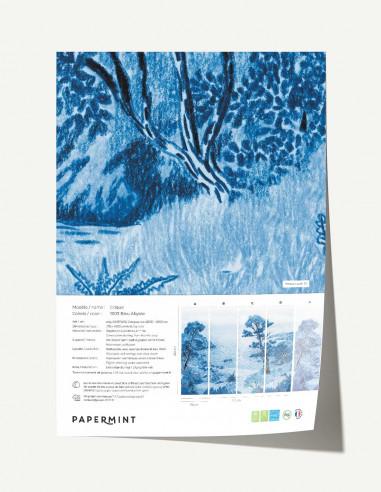 Crique Wallpanel - sample
