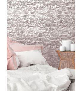 Tiles 90x255 / AquapaperMat /REVOIR LE BLEU -foncé