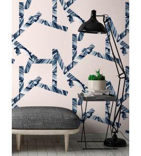 Jungle Bleu canard - rouleau
