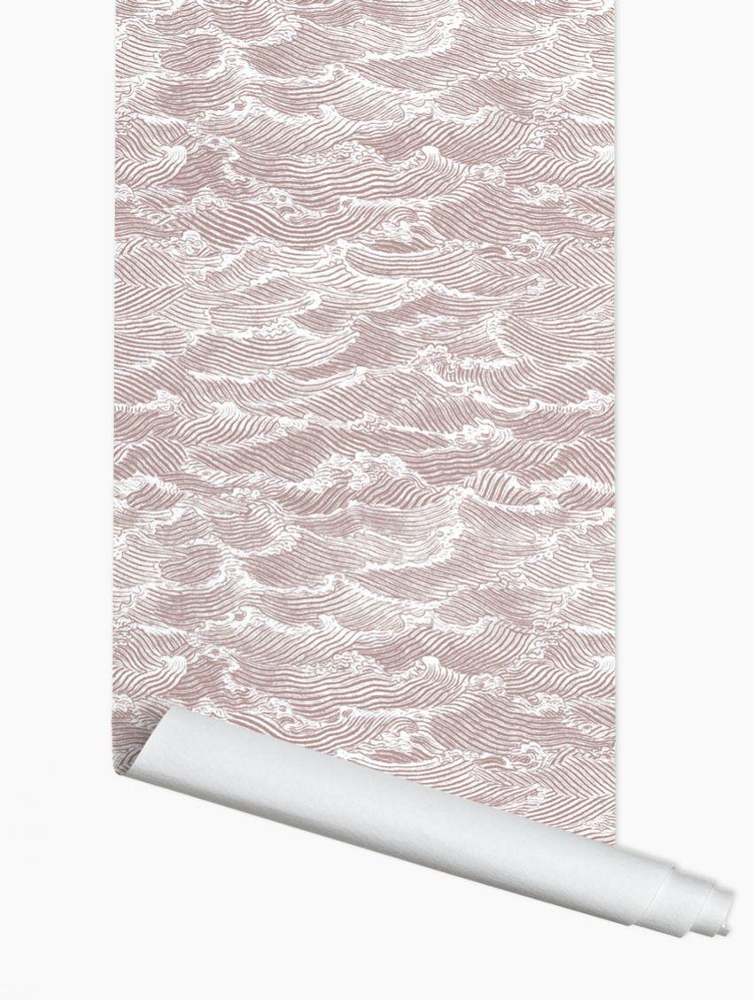 papier peint waves papermint. Black Bedroom Furniture Sets. Home Design Ideas
