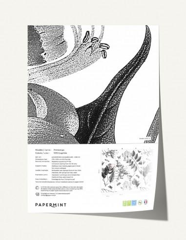 Printemps Wallpanel - sample
