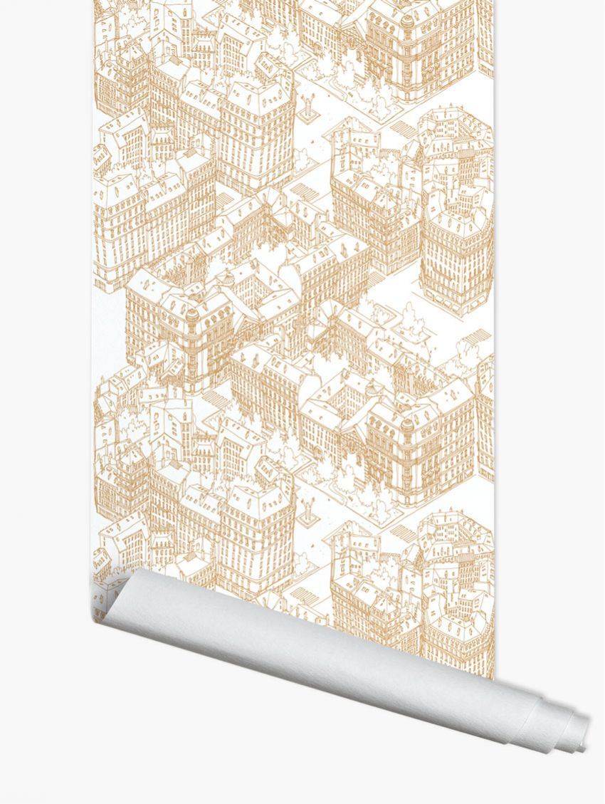 papier peint paris papermint. Black Bedroom Furniture Sets. Home Design Ideas