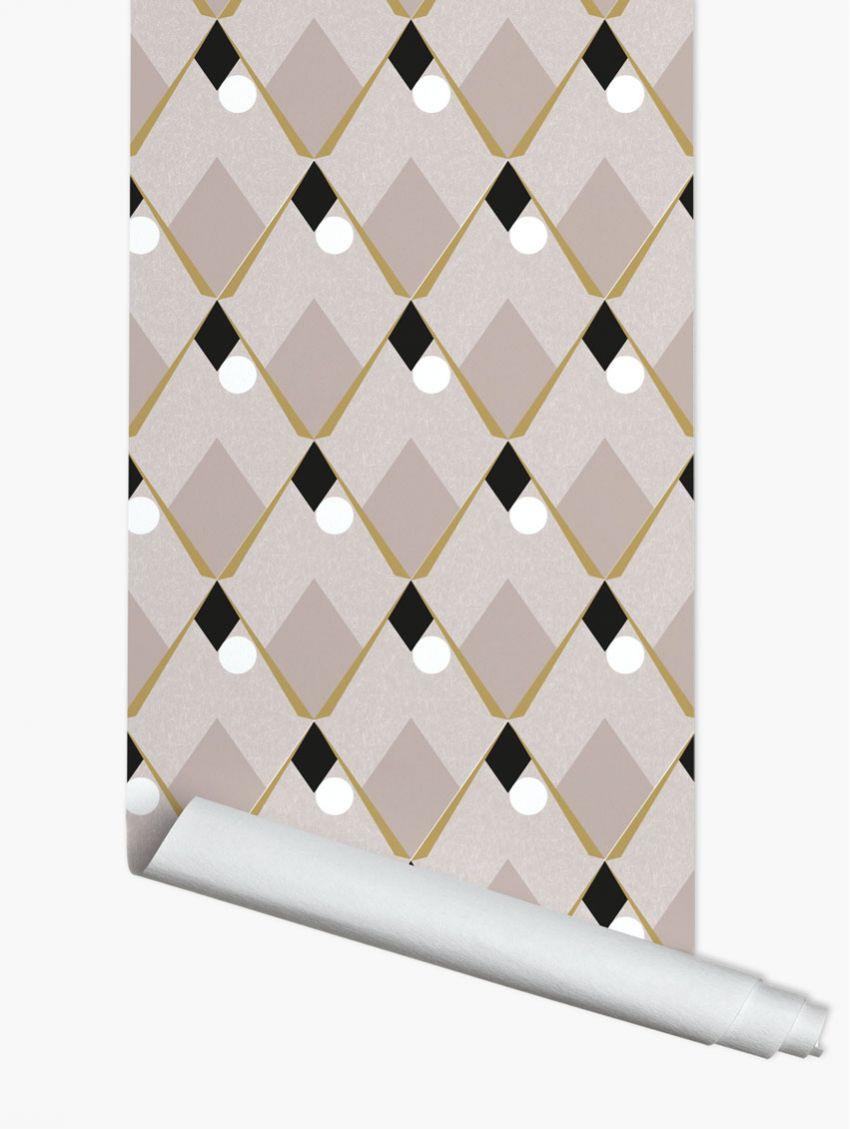 papier peint arlequin papermint. Black Bedroom Furniture Sets. Home Design Ideas