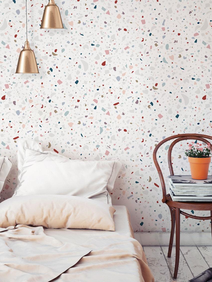 Papier Peint Style Atelier papier peint granite - papermint