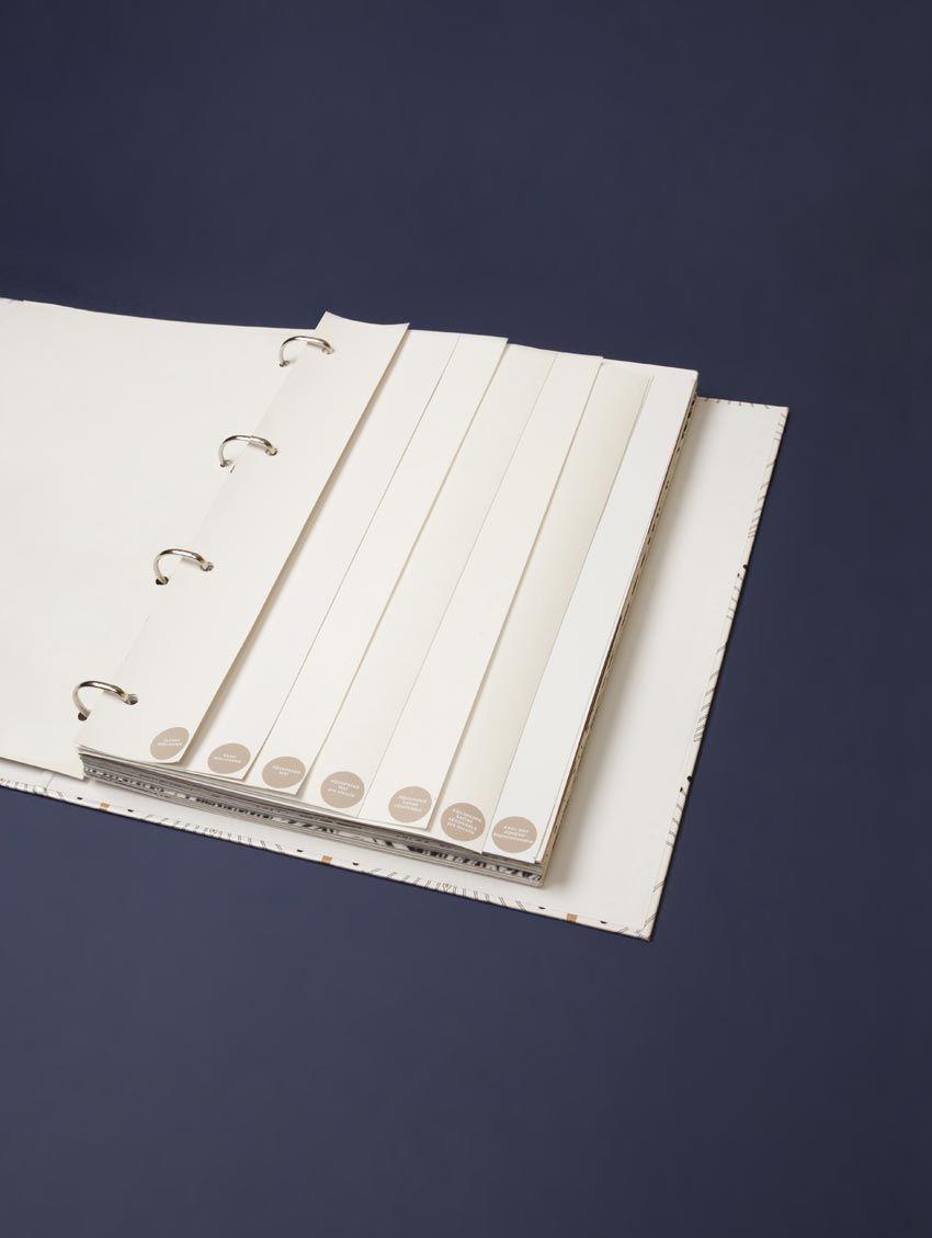 Book Echantillon A4 Papier Peint Papermint