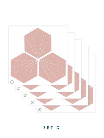 Tiles - Set de 5 planches