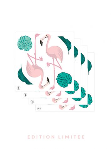 Flamingo - LIMITED EDITION - 4 boards