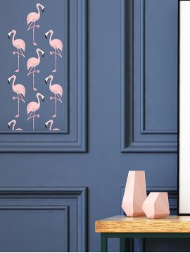 Flamingo - EDITION LIMITEE Set de 4 planches