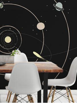 Fresque Galaxie - 3 à 6 lés