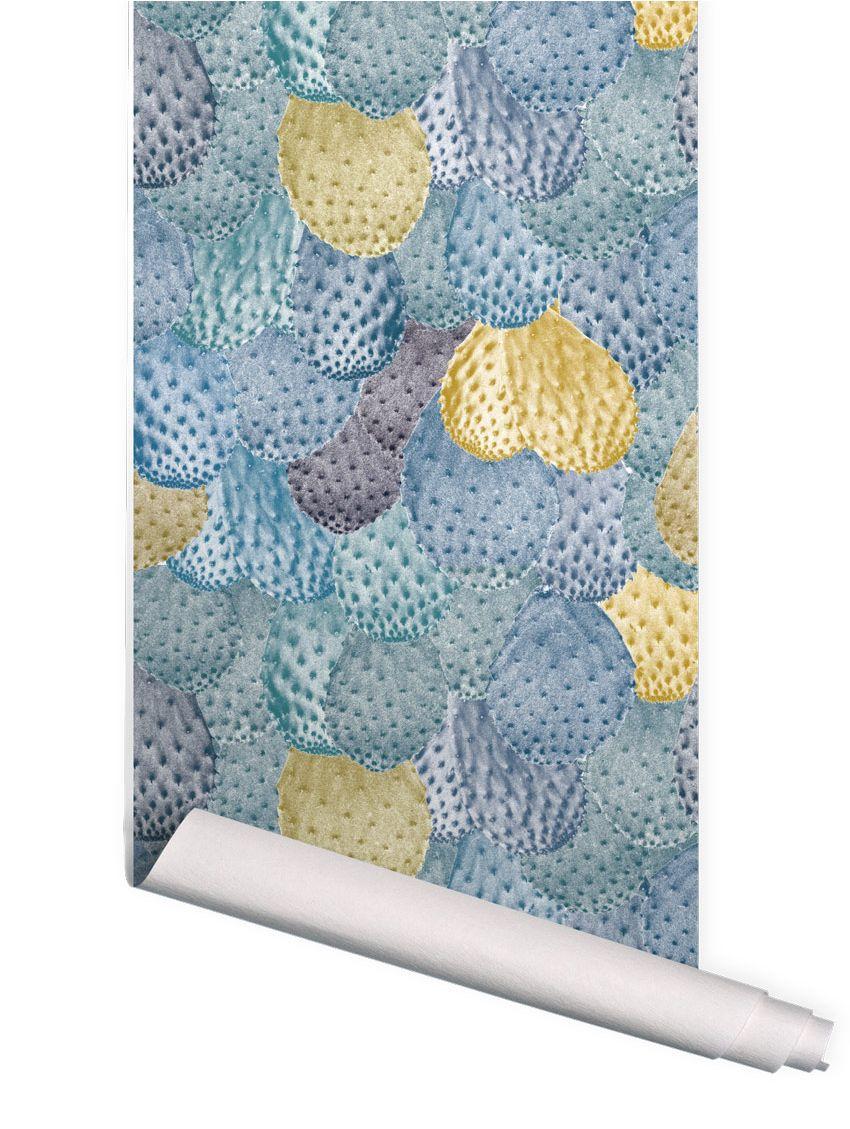 papier peint opuntia papermint. Black Bedroom Furniture Sets. Home Design Ideas