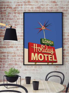 Poster Holiday Motel