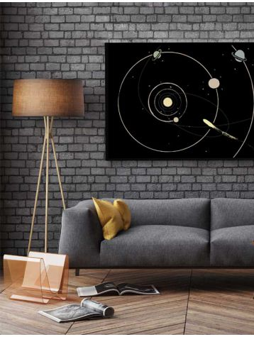 Poster Galaxie