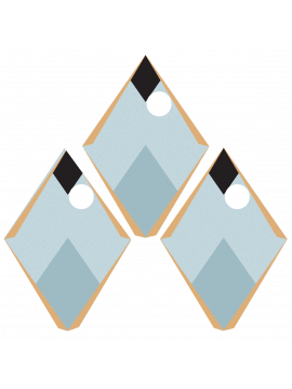 Arlequin - Bleu