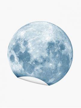 Décor Lune - bleu nuit