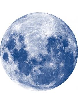 Décor Lune Bleu nuit