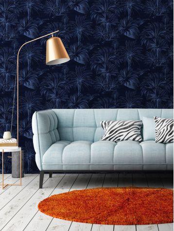 papier peint palmier papermint. Black Bedroom Furniture Sets. Home Design Ideas