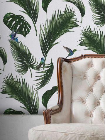 Jungle - mural 3 stripes