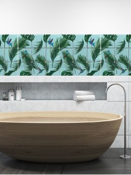 Jungle mosaic - 9 sheets