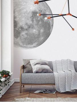 Lune - Grand sticker