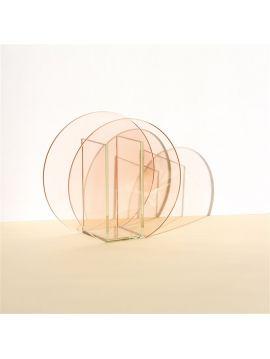 Vase - Memphis - cercle - 17 x 8 x 17 cm
