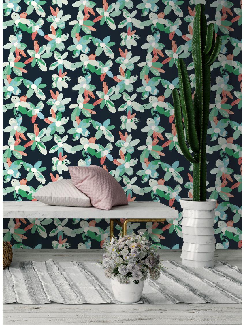 papier peint blossom papermint. Black Bedroom Furniture Sets. Home Design Ideas