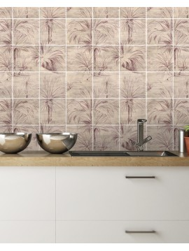 Palmier Mosaique-  9 Planches