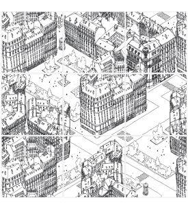 Paris mosaic - 9 sheets