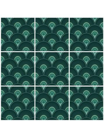 Han'i Mosaique-  9 Planches
