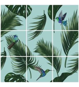 Jungle Mosaique-  9 Planches