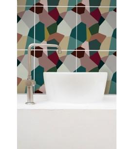 Jungle Mosaique -  9 Planches