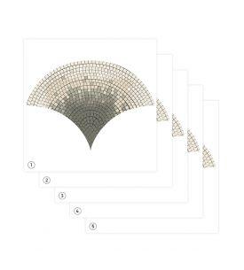 Mosaïc - Set de 5 planches
