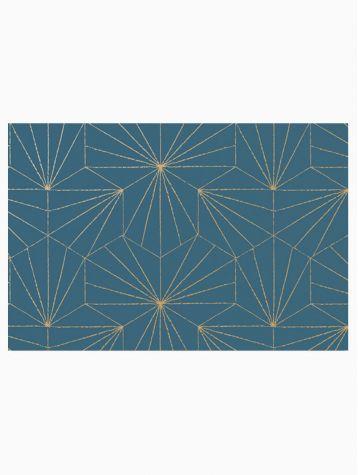 Tiles - Golden Blue