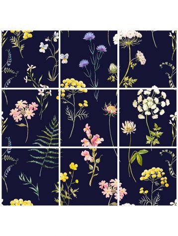 Herbier mosaïque - 9 planches
