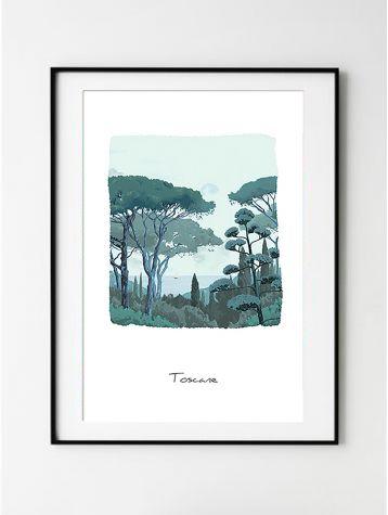 Poster Toscane