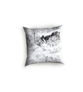 Lotus bleu - Cushion