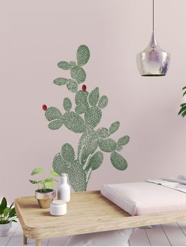Racket cactus- Grands Stickers