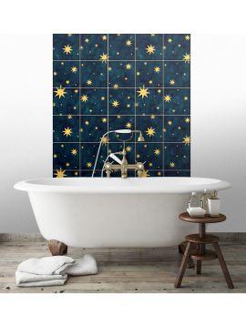 Nuit etoile Mosaique-  9 Planches