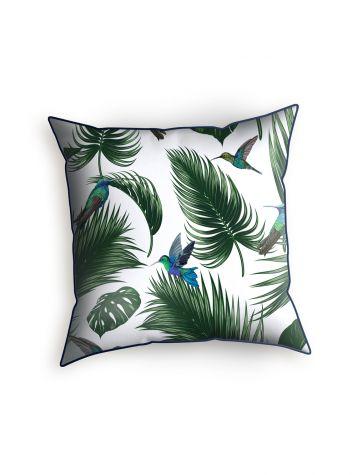 Jungle Blanc - Cushion